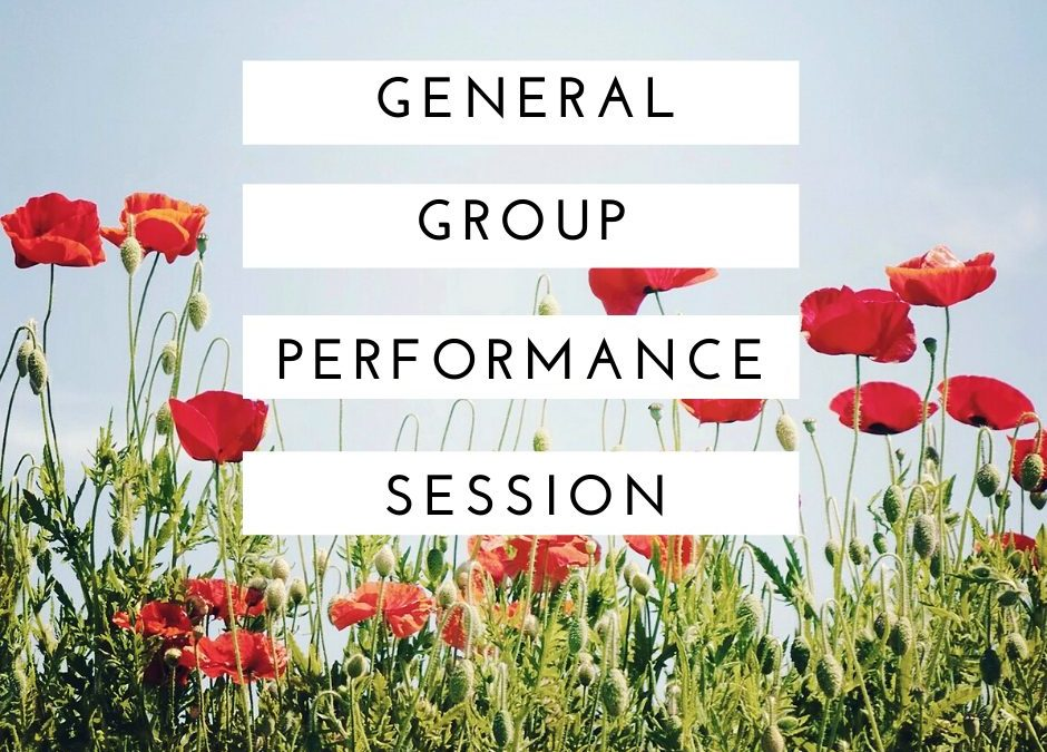 General Group Performance Coaching – 6-1-21 at 10am ET